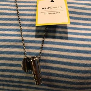 Half United necklace